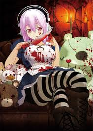 countdown to halloween super sonico swing with shad