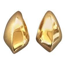 gold ear cuff georg gold ear cuffs no 1126 by nanna ditzel at 1stdibs