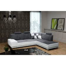 canapé 5 places canape 5 places canap duangle places en tissu taupe cavally