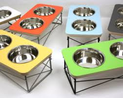modern dog ring holder images Modern dog bowl etsy jpg