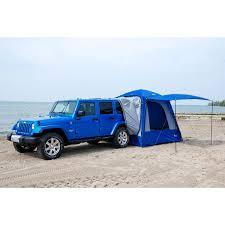 jeep liberty accessories sportz by napier 4 5 person suv minivan tent blue grey black