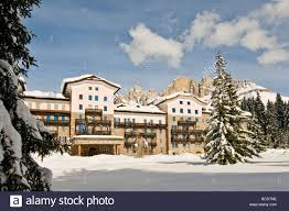 residence grand hotel karezza carezza bolzano italy stock photo