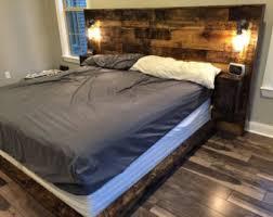 rustic headboard standard wood headboard queen headboard
