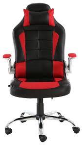 Reclining Leather Armchair Btexpert High Back Reclining Leather Chair Executive Racing Office