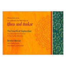 indian wedding card sles orange flair indian wedding invitations cards on pingg