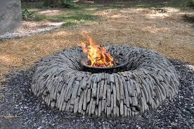 Rocks For Firepit Makeshift Pit River Rock Explode Lowes Kit Bottom Material
