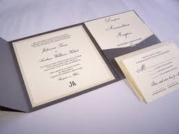 wedding pocket invitations pocketfold wedding invitations white tie designs
