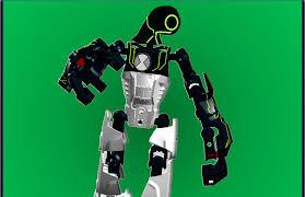 lego ideas ben 10 series ultrabuild figure