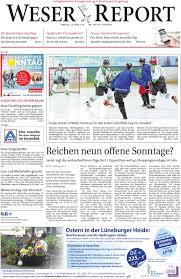 Friseur Bad Bevensen Weser Report Huchting Stuhr Brinkum Vom 13 03 2016 By Kps