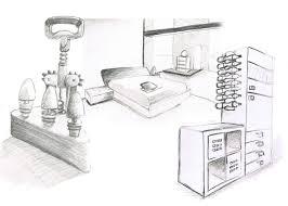 comment dessiner un canapé en perspective photo dans comment dessiner un meuble en perspective image de