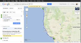 Pacific Coast Highway Map Surf 101 Road Tripping The Pacific Coast Highway Mike Fields