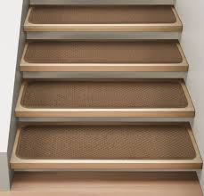 amazon com set of 12 attachable indoor carpet stair treads