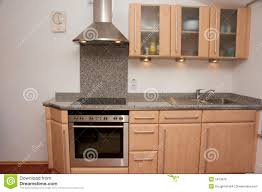 kitchen unit with granite top royalty free stock image image