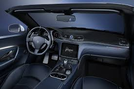 maserati models interior maserati finally details 2018 granturismo and grancabrio in new