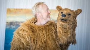 grizzly bear halloween costume adam savage incognito at comic con 2016 the revenant bear youtube