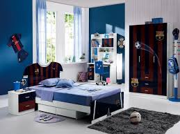 Boy Bedroom Furniture by Kids Room Boys Bedroom For Fc Barcelona Fans With Single Sized
