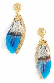 feather earrings for kids statement women s earrings nordstrom