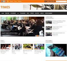 times news u0026 magazine template joomla themes creative market