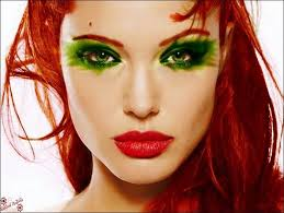 Halloween Costumes Red Hair Poison Ivy Costumes Makeup Images Poison Ivy Makeup