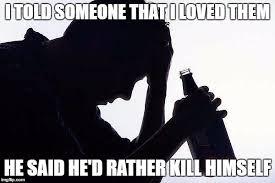 Depressed Drinking Meme - depression drinking latest memes imgflip