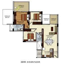 residential apartments floor plans site plan 2 bhk u0026 3 bhk