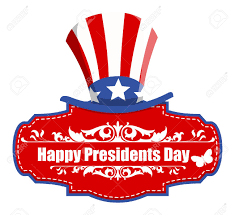 usa theme happy presidents day greeting banner vector royalty free