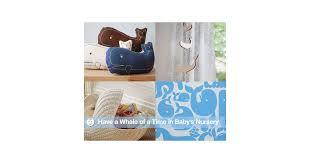 whale themed nursery decor popsugar moms