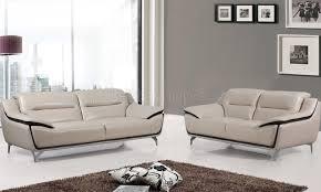 ensemble canape cuir ensemble canapé cuir design 3 2 coloris dé chocolat shadow