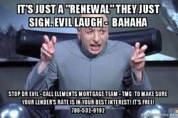Meme Evil Laugh - it s just a renewal they just sign evil laugh bahaha stop dr