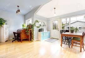 craftsman style flooring bright entrance room in craftsman style house light tones hardwood