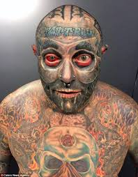 tattboy holden covers 90 of his body with tattoos daily mail online