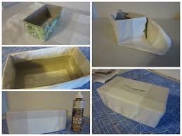 diy tissue box cover the sensible home
