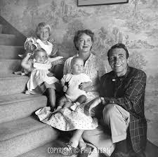 bette davis spouse bette davis with her husband gary merrill and their children ca