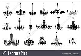 Chandelier Shapes 17 Different Shapes Of Chandelier Illustration