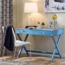 Registry Row Desk Amazon Com Marotta Writing Desk Home Office Desk Heritage Blue
