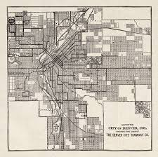 Map Of Denver Area Mcgraw Electric Railway Manual Perry Castañeda Map Collection