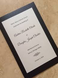 black and white wedding programs 8 best wedding programs images on wedding programs