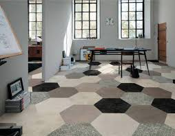 how to install hexagon tile modern home interiors