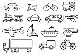 transportation clipart clip art of transportation clipart 7378