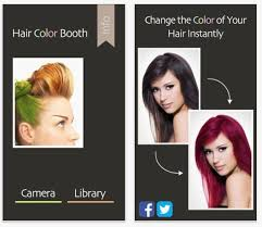 haircut styleing booth hair apps that are like personal stylists living in your phone