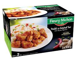 plat cuisiné fleury michon poulet général tao plat cuisiné fleury michon