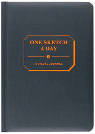one sketch a day a visual journal chronicle books llc
