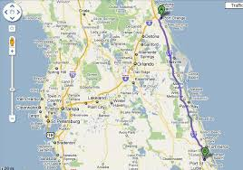 port st fl map where is daytona in comparison to other florida cities you