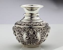 121 best silver pooja and household items images on
