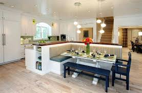 a kitchen how a kitchen table with bench seating can totally complete your