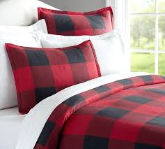 full image for buffalo plaid duvet cover canada red buffalo plaid duvet cover buffalo check flannel