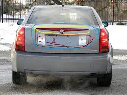 2003 cadillac cts backup light cover 2003 cts rear finish panel cadillac forum enthusiast forums
