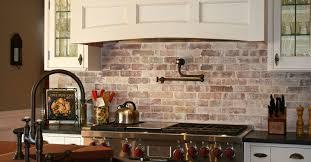 faux brick backsplash in kitchen tiles backsplash brick backsplashes for kitchens kitchen