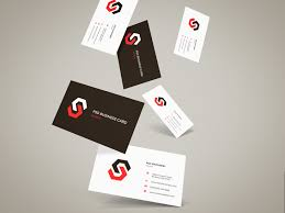 Business Cards Mockups Flying Business Cards Mockup Vol 12 Graphberry Com