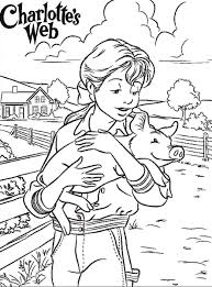 Charlotte S Web Coloring Pages Charlottes Web Free Zvershtina Info Web Coloring Pages